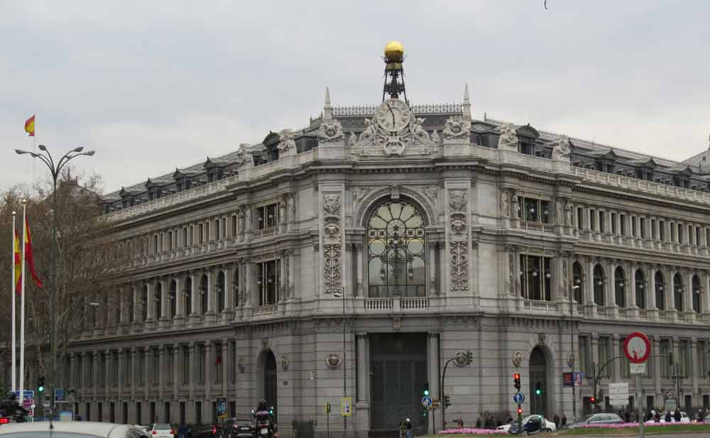Banco de espa a rutas pangea for Horario bancos madrid