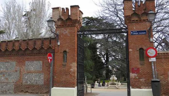 Quinta de la funete del berro rutas pangea for Piscina fuente del berro