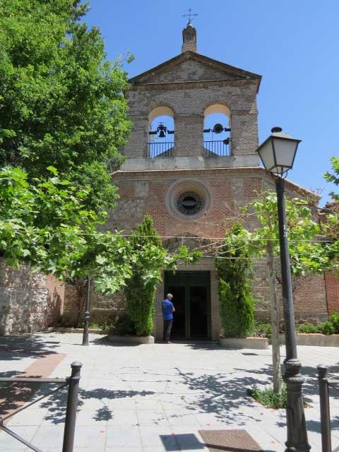 La iglesia de santa catalina en la alameda rutas pangea - Parroquia santa catalina la solana ...