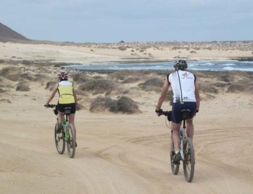 Viaje en bicicleta en fin de año, Lanzarote en BTT