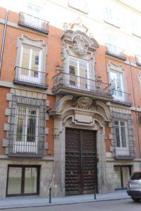 Portada del Palacio del Marques de Miraflores-Madrid (9)
