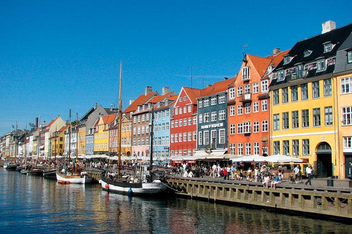 Viajes en bici por Europa Copenhague