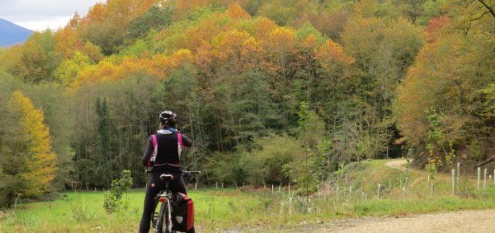 En bici por el Señorío de Bertiz, Navarra