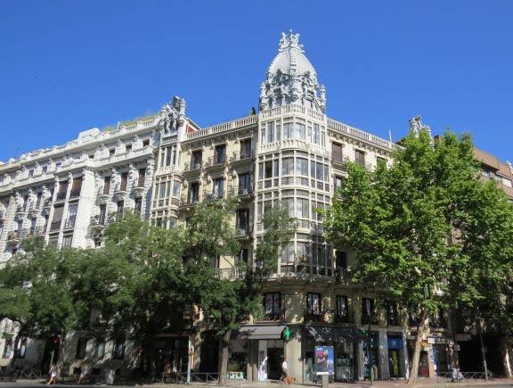 viviendas calle alcal 121 modernismo madrid rutas pangea