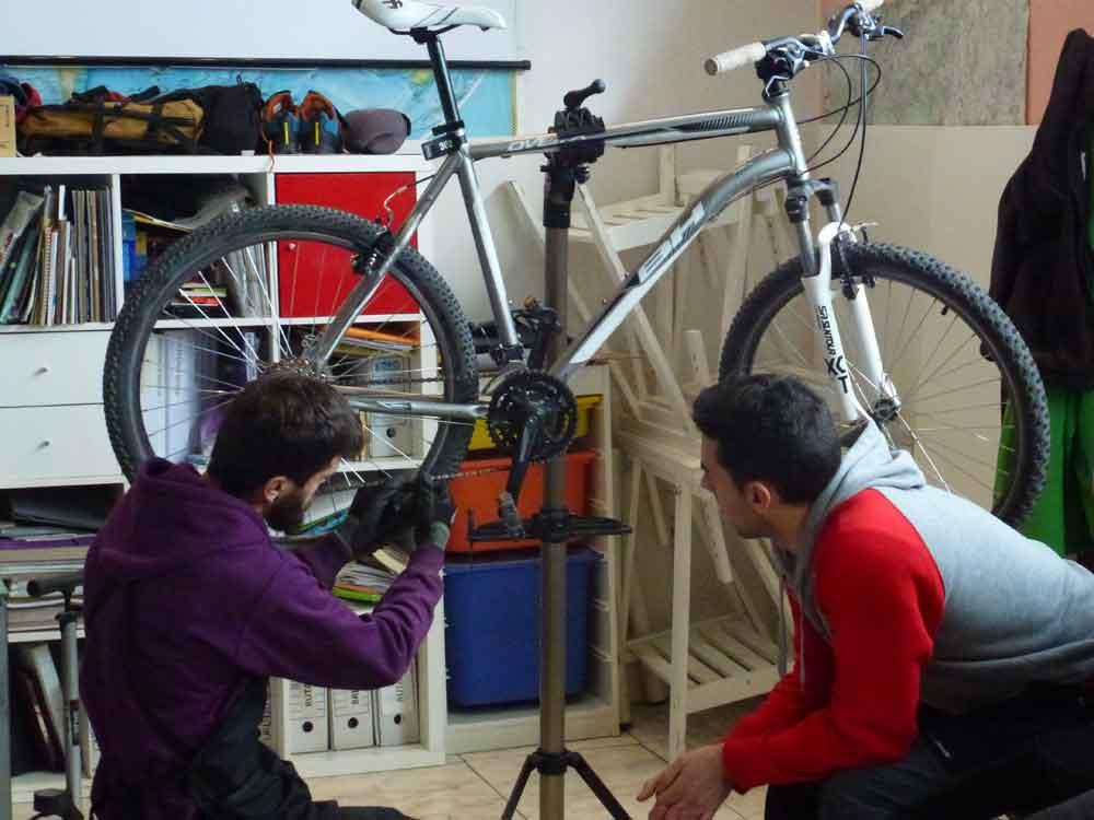 Mecanica basica bici Madrid