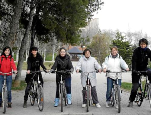 Curso aprende a montar en bici para adultoS