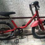 Venta bici segunda mano infantil Decathlon 14 roja