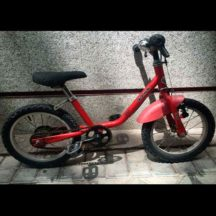 Venta bici segunda mano infantil Decathlon 14 roja D
