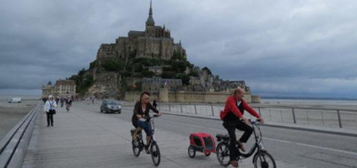 Mont Saint Michel en bicicleta