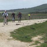 en bici por el parque Natural del Estrecho Rutas Pangea