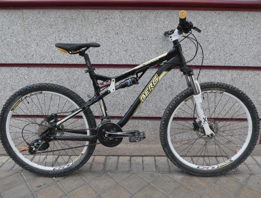bici montaña Berg doble suspension