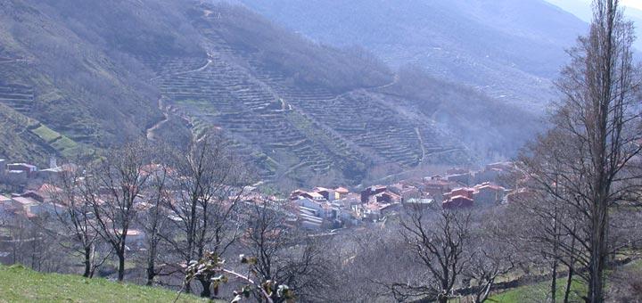 Viaje en bici por el valle del Jerte
