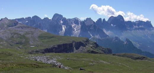 Travesía en bici de montaña por Dolomitas