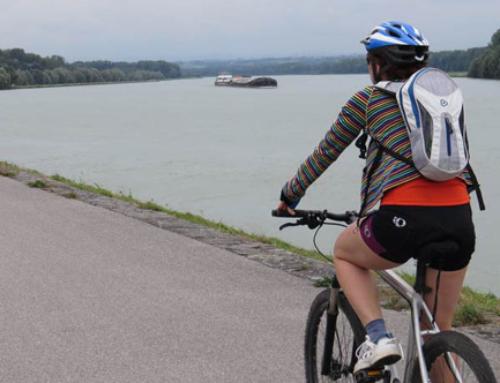El río Danubio en bicicleta