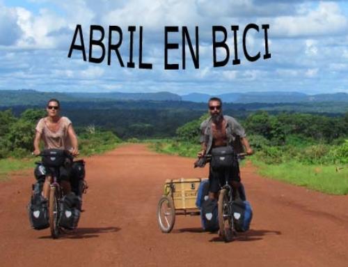 Agenda de la bicicleta del mes de abril