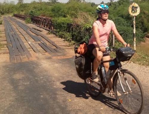 Laura Rincón, un viaje en bici por Tailandia, Laos y Camboya