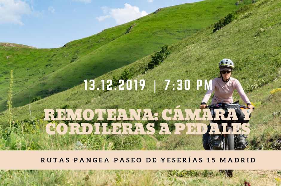 Presentacion de Ana Zamorano en Rutas Pangea