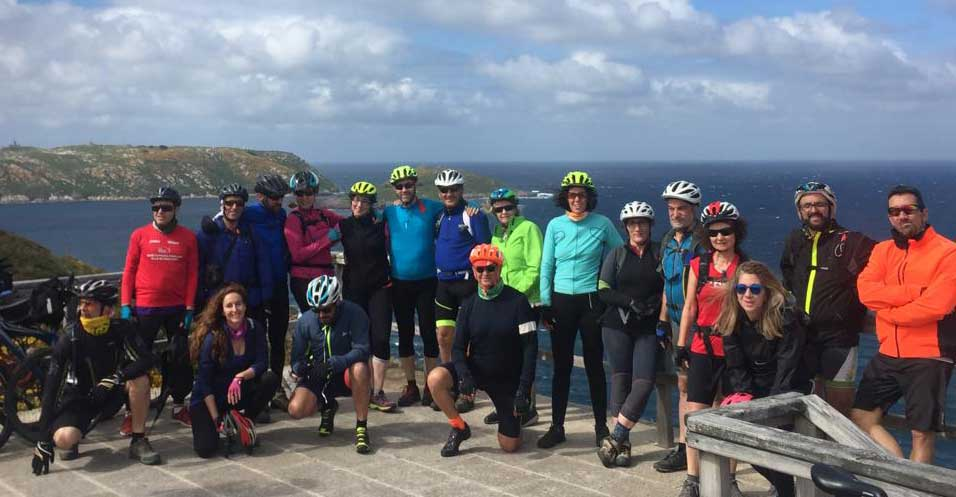 Costa da Morte en bici