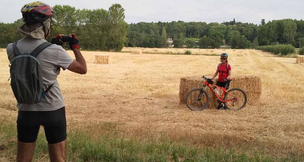 viajando en bici por el Loira
