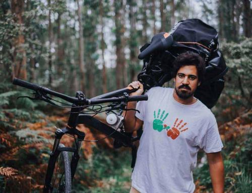 Nico Merino de Gijón a Kenia en bicicleta