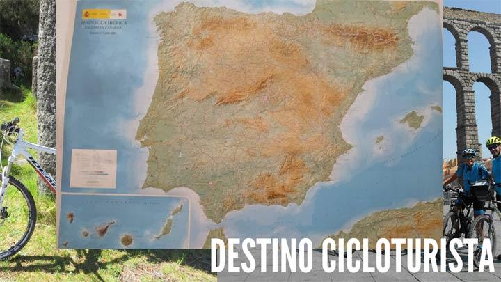 España destino cicloturismo