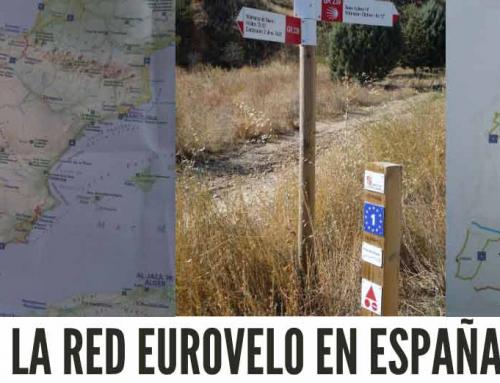 La red EUROVELO en España