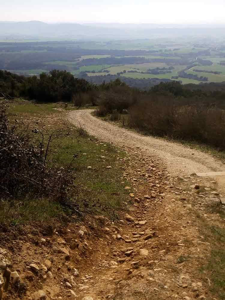 en bici por el Sistema Iberico con Rutas Pangea