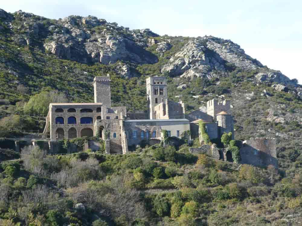 Viaje en bici Sant Pere de Rodes