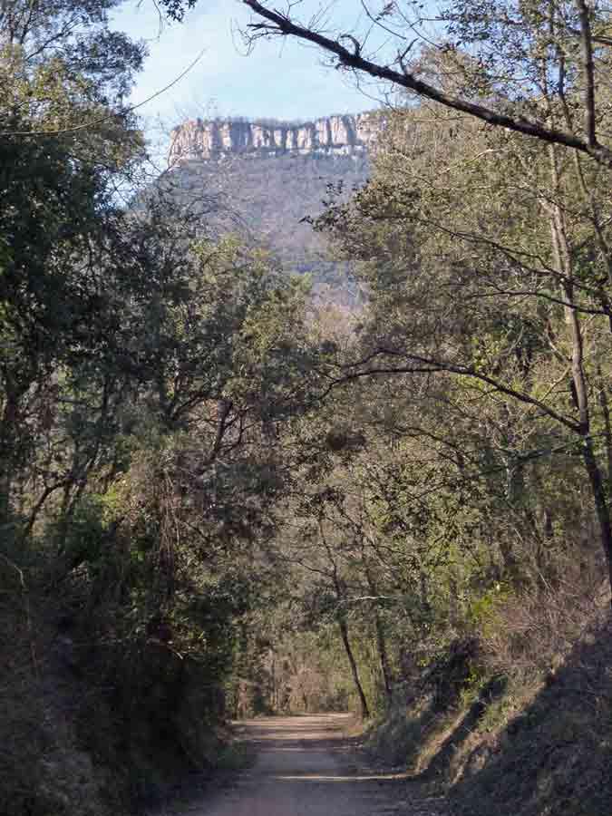Camí de Sant Jaume El Far desde el Carrilet