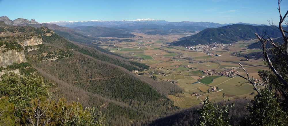 Vista de Cingles desde Falgars