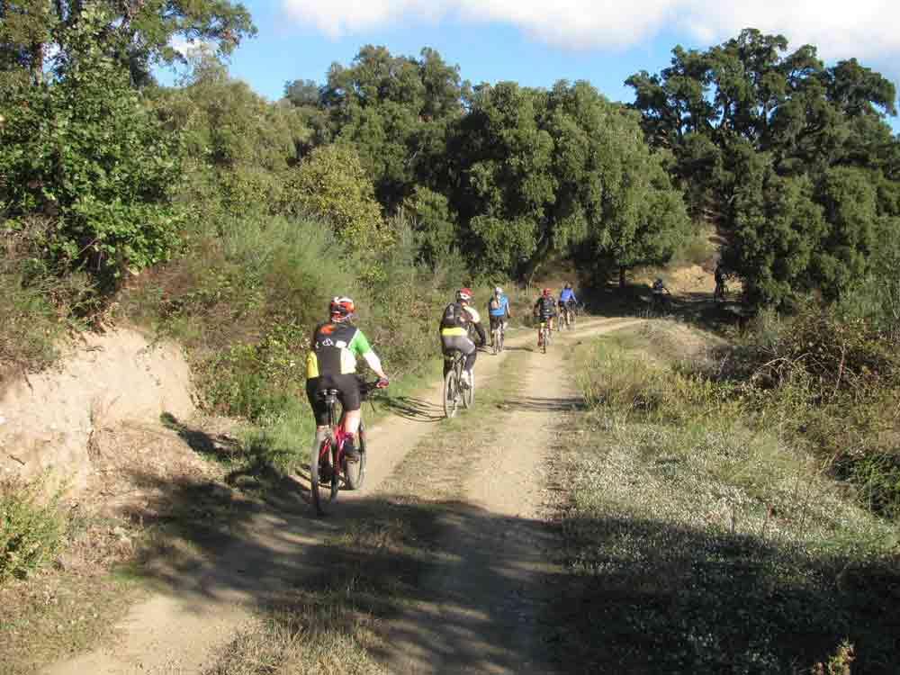 cicloturismo por el Camí de Sant Jaume