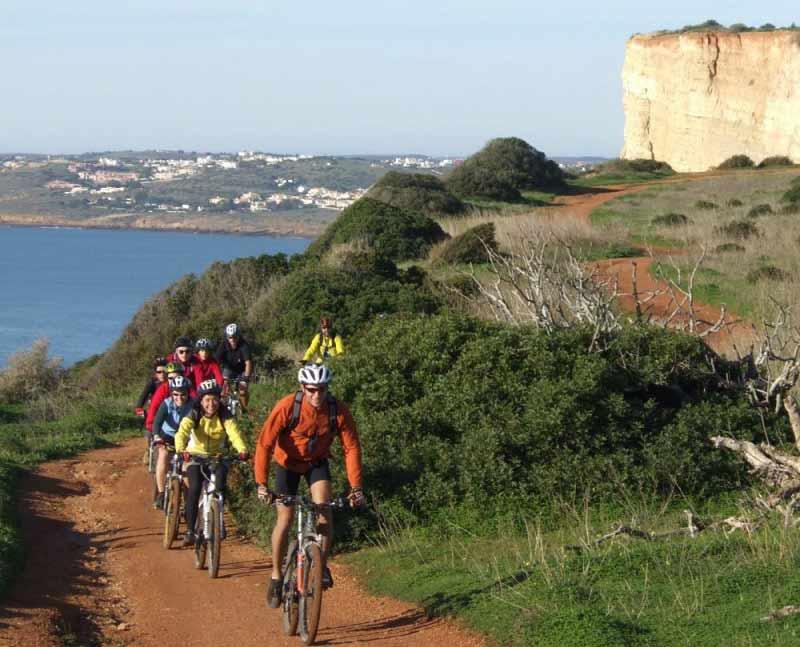 Viaje en bici por Algarve Rutas Pangea
